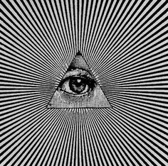 eye triangle illustration - Buscar con Google