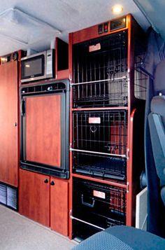 Sportsmobile Custom Camper Vans