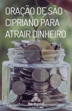 A oração de são Cipriano é muito conhecida por ser forte e eficaz. Aproveite de todo o poder para atrair o dinheiro para você e alcance seus desejos. Fen Shui, Wicca, Tarot, Prayers, Spirituality, Wisdom, Positivity, Thoughts, Life