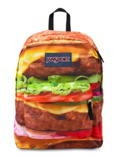 The new JanSport High Stakes Backpack in Multi Double Cheese Please.