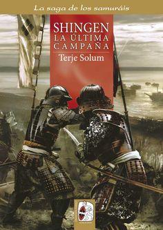 """Portada de """"Shingen el conquistador"""" (La saga de los samuráis, Vol. VI), de Terje Solum y Mariusz Kozik. ® Mariusz Kozik"""