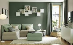BESTÅ wandkastcombinatie | IKEA IKEAnederland inspiratie wooninspiratie woonkamer kast opberger tv-meubel modulair vakkenkast