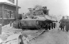 """Destroyed PzKpfw VI """"Tiger"""" http://albumwar2.com/destroyed-pzkpfw-vi-tiger/"""