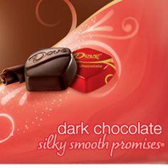 Dove Dark Chocolate.....the Best!