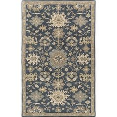 Complete any setting with this transitional area rug. Hund-tufted with 100-percent wool, this rug is sure to be the finishing touch you've been searching for. Primary materials: 100-percent wool Latex