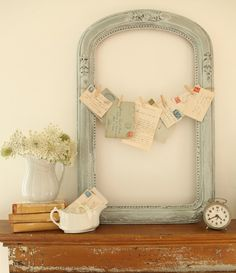 That beautiful frame you found doesn't HAVE to hold a picture!