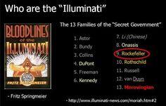 13 Bloodlines of The Illuminati