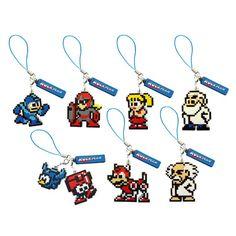 Megaman Key Chain