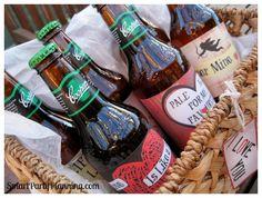 Valentines Day Beer Labels