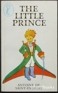 The Little Prince by Antoine De Saint-Exupery. This title has now sold.