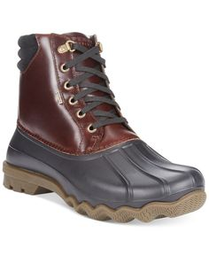 Sperry Top-Sider Avenue Duck Boots - Boots - Men - Macy's