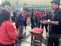 #Indy500 travelers enjoying a magic show!
