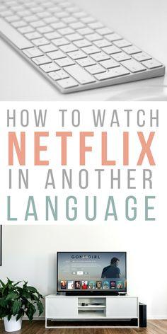 how to change language on netflix ipad
