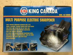 King Canada Tools KC-3900S MULTI PURPOSE ELECTRIC SHARPENER