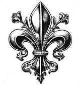 fluer de lis my favorite symbol i want one as a tattoo!!!!!!!!!!!!!