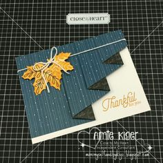 Drapery card, leaves