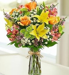 Garden Grandier -  A Fall Bouquet that's sure to delight
