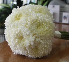 Bridal Bouquet Football Mums ....for bridesmaids... whatcha think? @Kimberly Trueblood @Lauren Repetto @Jennifer Patch @Sarah Anderson @Lizzy Nephew @Ashley Pinson @Marissa Lindsey