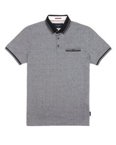 Oxford polo - Navy | Tops & T-Shirts | Ted Baker
