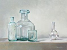 Pita Vreugdenhil | OIL | Still Life With Glass