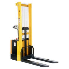 Capacity 62 in. High Stacker with Powered Drive and Powered Lift with Fixed Forsks Over Fixed Support Legs Buy Office, Fire Hose, Industrial Storage, Powerlifting, Legs, Pallets, Products, Weight Lifting, Weightlifting