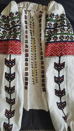 Folk Costume, Costumes, Ukrainian Dress, Folk Embroidery, Cross Stitch, Traditional, Ua, How To Wear, Shirts