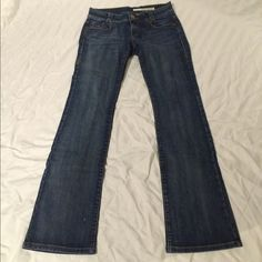 DKNY flare jeans DKNY boot cut jeans, darker wash,  worn a couple of times, DKNY Jeans Boot Cut