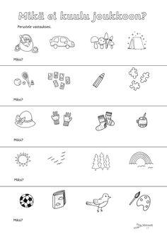 Finnish Language, Pre School, Kindergarten, Teaching, Education, Blue Prints, Egg As Food, Kindergartens, Onderwijs