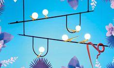 New in!  Colección Yanzi by Artemide. Una composición liciana de signos gráficos inspirada en la naturaleza.
