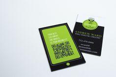Freelance Business Cards by Abigail Redington, via Behance