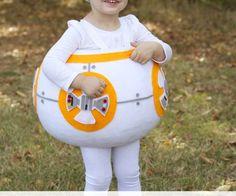 "How to make a ""BB8"" STAR WARS Costume! | via www.makeit-loveit.combb8-star-wars-costume-diy-1"
