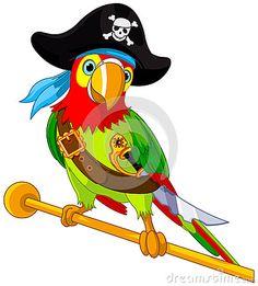 Perroquet De Pirate Photo stock - Image: 32427470