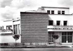 Casa en Nápoles, en la calle Dakota 267 esq. Nueva Jersey, Nápoles, Benito Juárez, México DF 1948  Arq. Vladimir Kaspé -   House in Napoles, calle Dakota 267 at Neuva Jersey, Napoles, Benito Juarez, Mexico City 1948