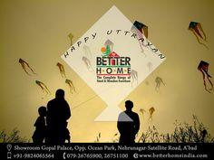 #Happy #Safe #Uttarayan #MakarSankranti 2016 #SaveBirds  #BetterHome #Furniture #Ahmedabad