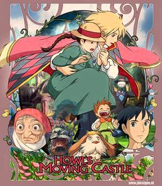 Howl's moving castle by ~jdesigns79 on deviantART