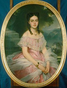 1865 (Anna Friderica) Wilhelmina von Hallwyl, b Kempe by Charles) Edouard Boutibonne (Hallwylska museet - Stockholm Sweden)