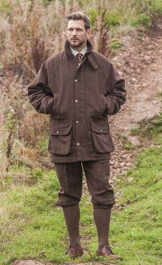 tweedjacka, shootingjacket, jaktjacka, tweed