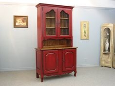 Buffet & Hutch / French Country Hutch / French Provincial Hutch And Buffet
