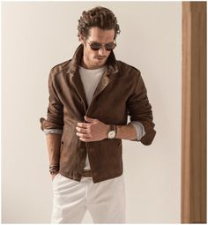 Massimo Dutti Equestrian Mens Collection Spring/Summer 2015