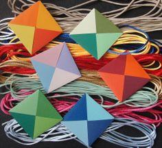 Composições com módulos em Origami