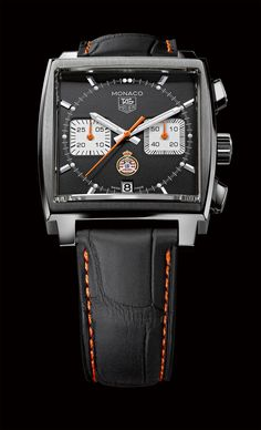 The TAG Heuer Monaco Calibre 12 ACM limited edition.