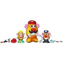 """Potato Head Container Set - Hasbro - Toys""""R""""Us Fireman Hat, Police Hat, Potato Heads, Gifts For Girls, Firefighter, Winnie The Pooh, Arms, Container, Disney Characters"""