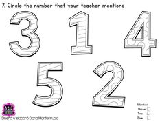 55 best Numbers & Counting images on Pinterest