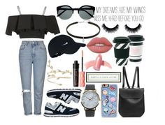"""""""MY DREAMS ARE MY MINDS"""" by patricia-manso ❤ liked on Polyvore featuring Benefit, NIKE, GRETCHEN, Topshop, New Balance, Retrò, Zero Gravity, NLY Accessories, Lime Crime and Vintage Playing Cards"""