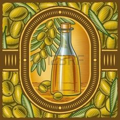 olive branch: Retro olive oil
