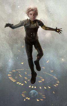 Sam Weber cover for Ender's Game