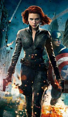 Scarlett Johansson Photo from the Avengers movie