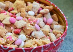 ValentineDay Chex Mix