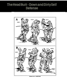 Head Butt - Self Defense Tips - This is dirty. But, only using clean self defense moves could kill you.