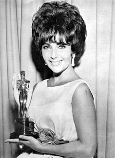 "Elizabeth Taylor won two Best Actress Oscars...one for ""Butterfield 8"" and the other for ""Who's Afraid of Virginia Woolf?"""